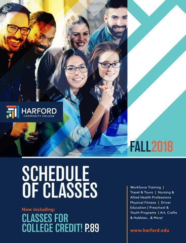 Fall 2018 Continuing Education & Training Schedule of