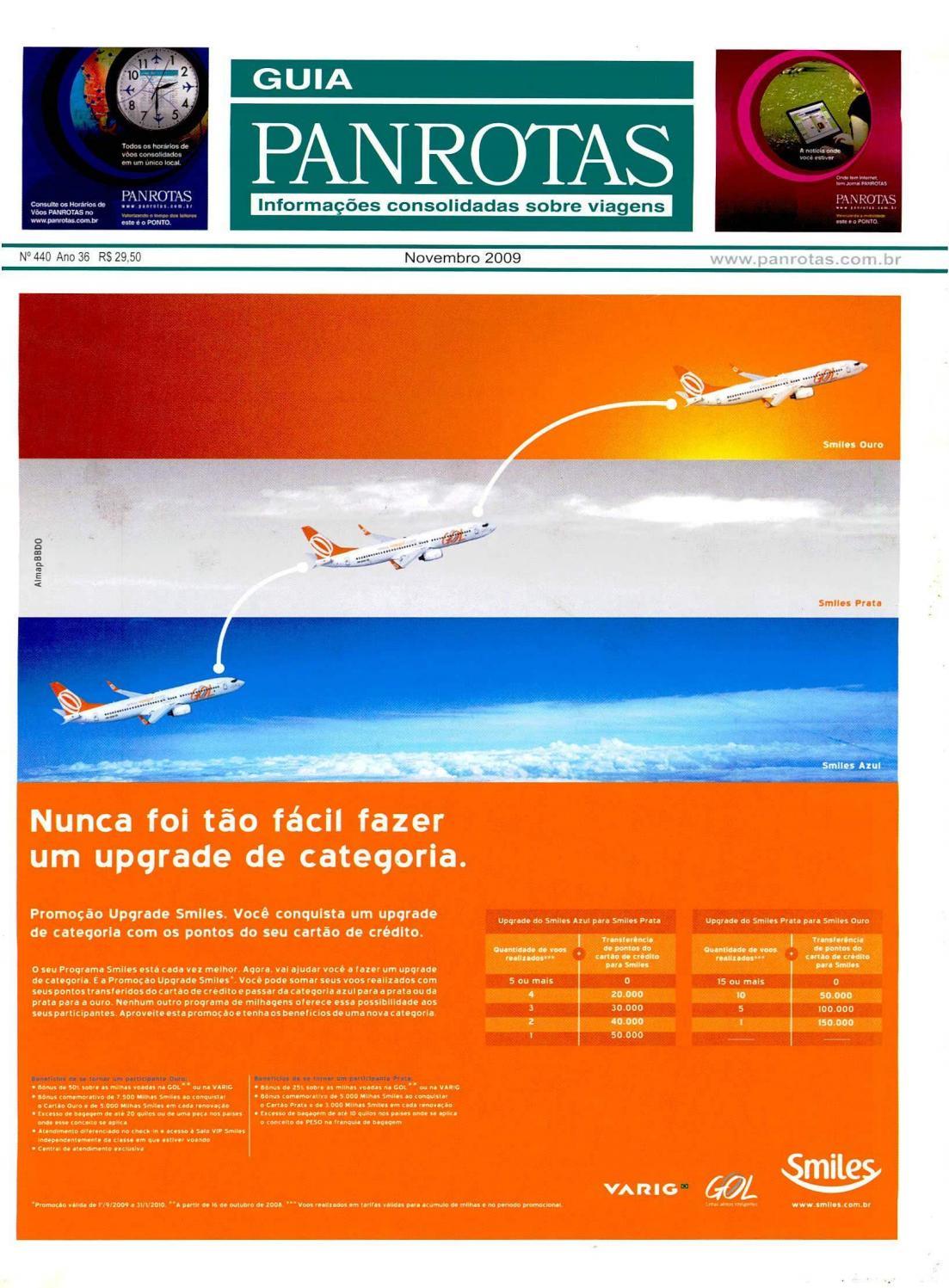 newest c103d f54f3 Guia PANROTAS - Edição 440 - Novembro 2009 by PANROTAS Editora - issuu