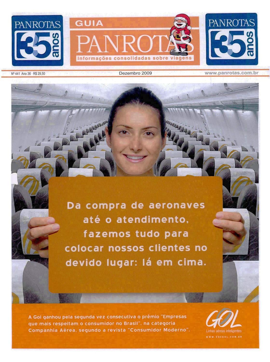1c615998f6 Guia PANROTAS - Edição 441 - Dezembro 2009 by PANROTAS Editora - issuu