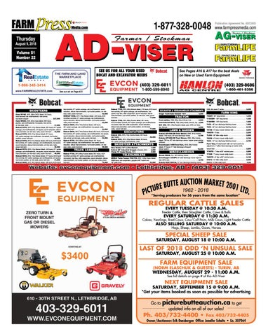 Southern Alberta Advisor, June 28, 2018 by Black Press Media