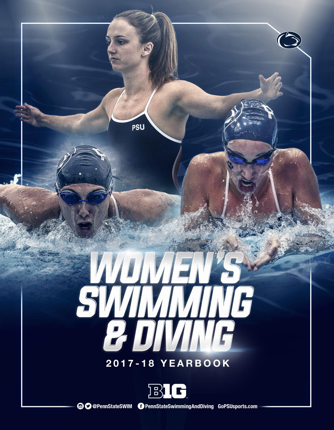 2017-18 Penn State Women's Swimming & Diving Yearbook by