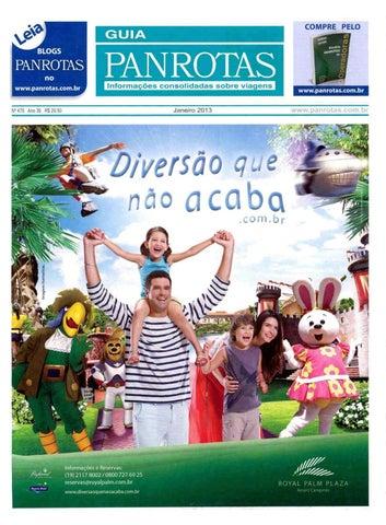 6e02b45be0e Guia PANROTAS - Edição 478 - Janeiro/2013 by PANROTAS Editora - issuu