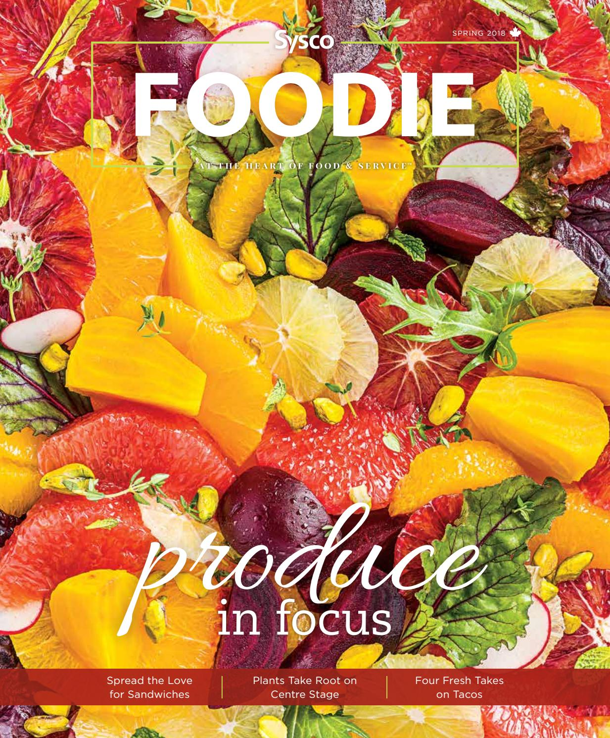 Sysco Foodie - Spring 2018