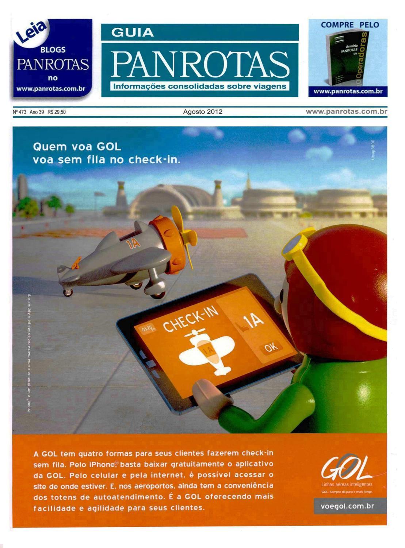 dc3d640ad7 Guia PANROTAS - Edição 473 - Agosto 2012 by PANROTAS Editora - issuu