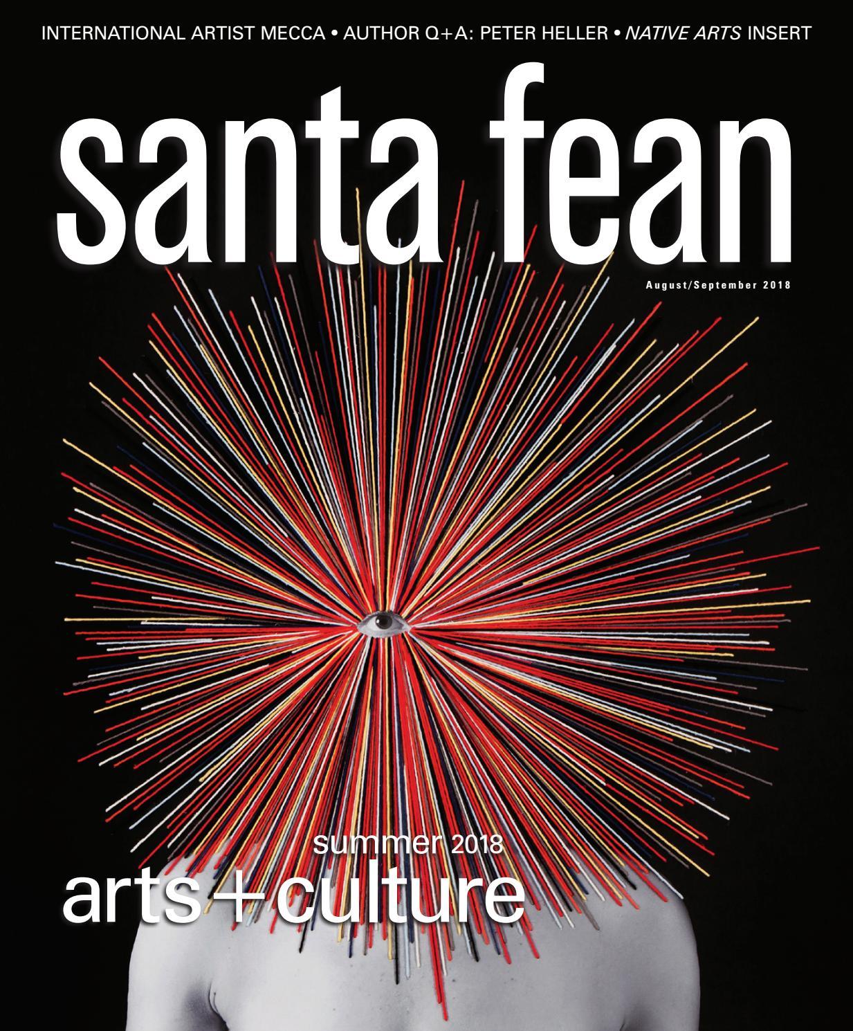 fdfe158cd755 Santa Fean Magazine August September 2018