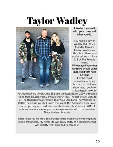 Page 15 of Interview with Taylor Wadley (The Rumble Chicago)