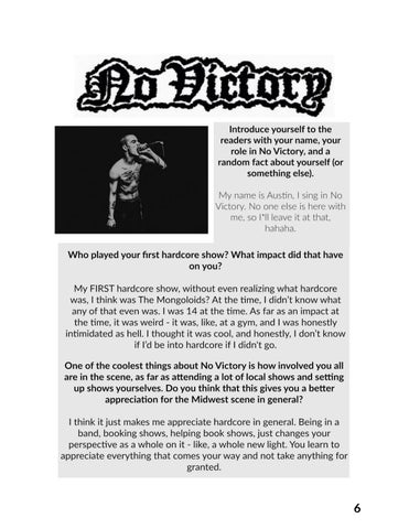 Page 6 of Interview with Austin Polus (No Victory)