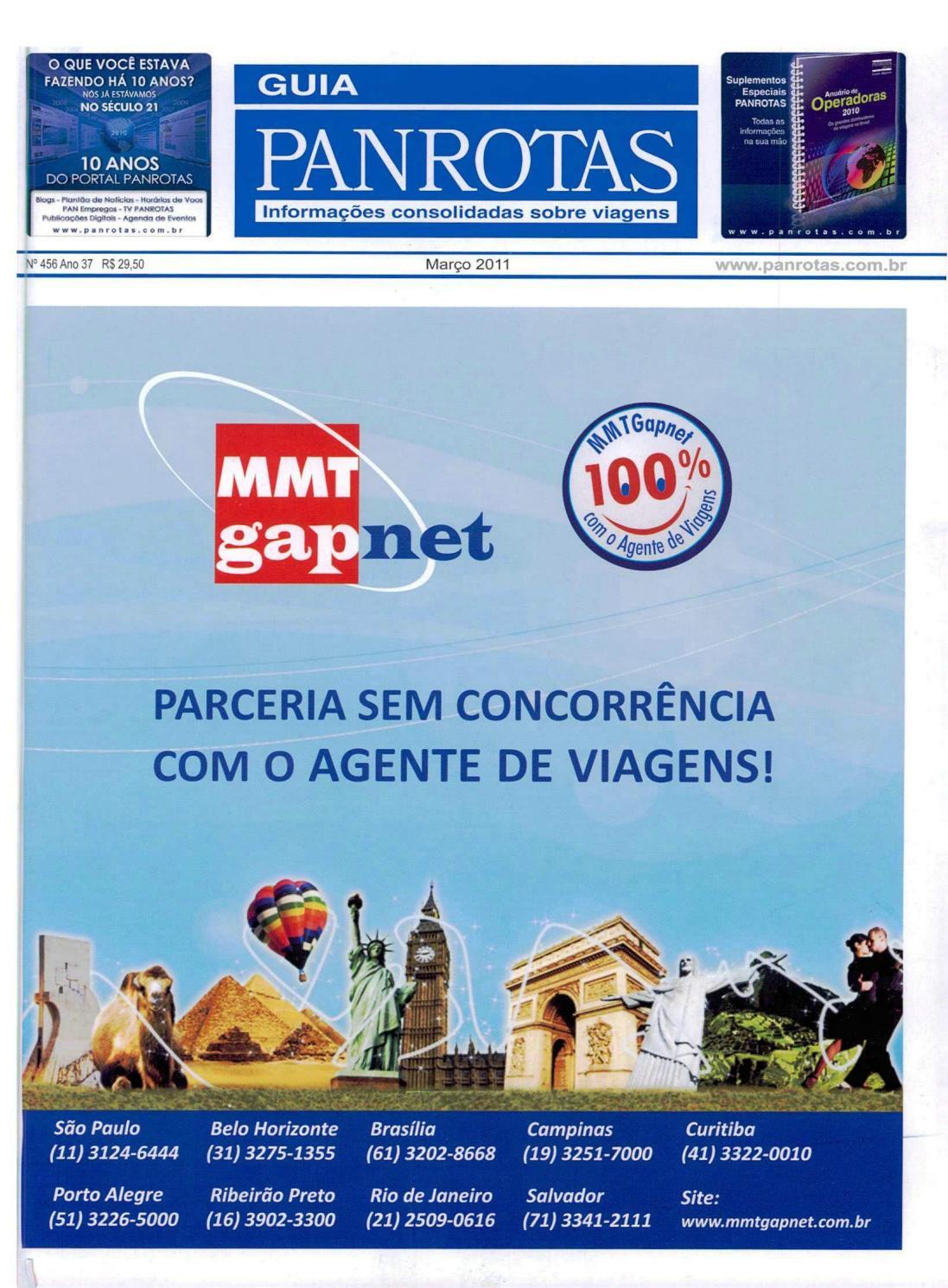 97d347471b96c Guia PANROTAS - Edição 456 - Março 2011 by PANROTAS Editora - issuu