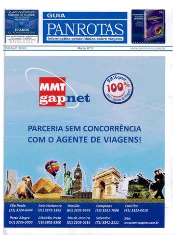 7be9e3ff52a9b Guia PANROTAS - Edição 456 - Março 2011 by PANROTAS Editora - issuu