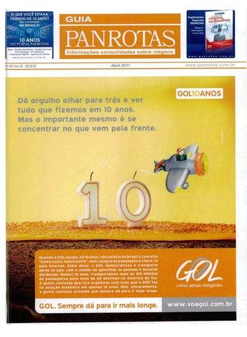 bf651b8cdc443 Guia PANROTAS - Edição 457 - Abril 2011 by PANROTAS Editora - issuu