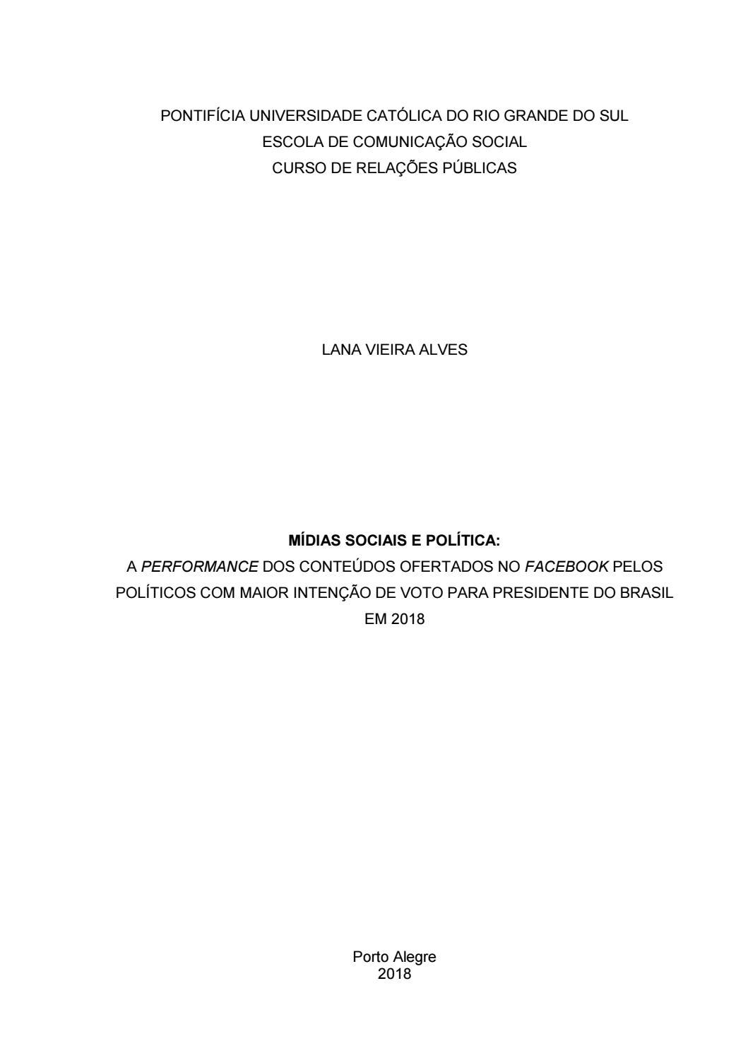 Mídias Sociais E Política By Lanavieiraalves Issuu