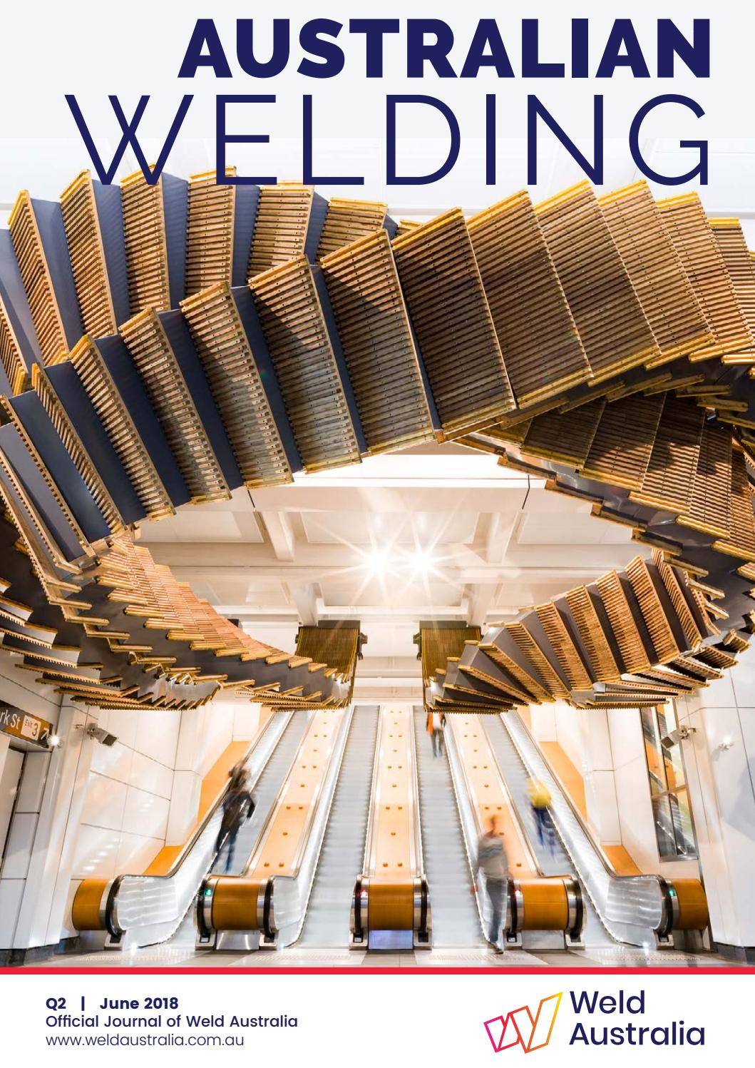 Australian Welding June 2018 (Q2) by Weld Australia - issuu
