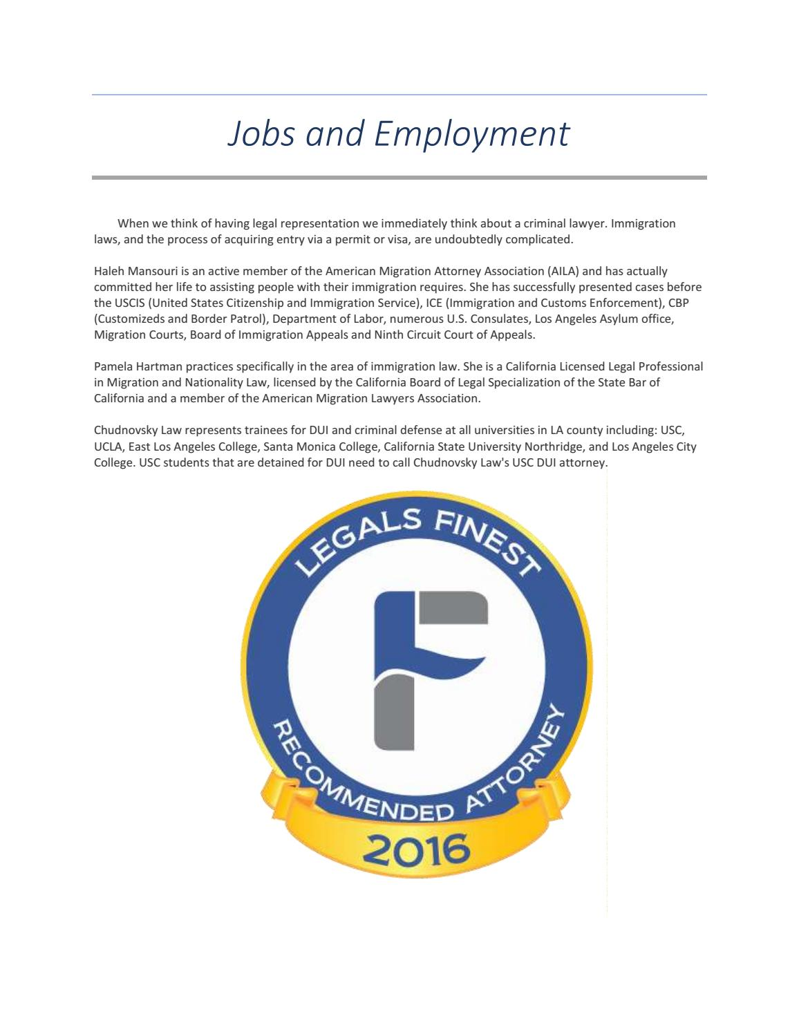 Jobs and Employment by sabrina salazar - issuu