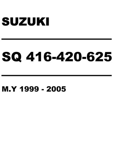 2001 suzuki sq416 sq420 sq625 grand vitara service repair manual by rh issuu com 1997 Suzuki Grand Vitara 1997 Suzuki Grand Vitara
