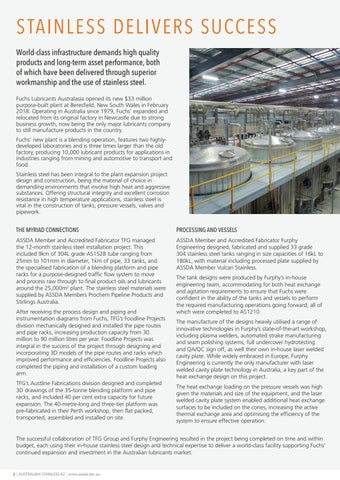 Page 2 of Stainless Delivers Success