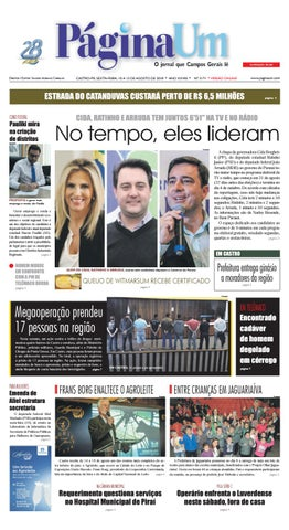 3171 do Jornal Página Um   Versão Online by Página Um Jornal - issuu 87c9b9a88a