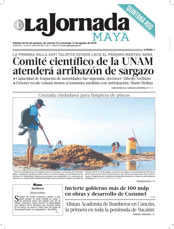 9eca039378587 La Jornada Maya · viernes 10 de agosto de 2018 by La Jornada Maya - issuu