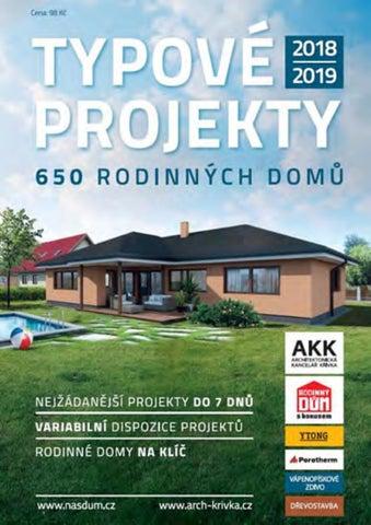 Typové Projekty 20182019 650 Rodinných Domů By Great Content