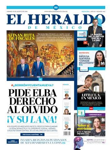 10 de agosto de 2018 by El Heraldo de México - issuu 6741a894fc1