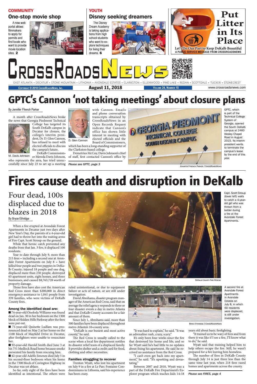 CrossRoadsNews, August 11, 2018 by CrossRoadsNews, Inc  - issuu