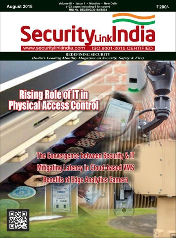 SecurityLink India Magazine 2018 by Security Link India - issuu