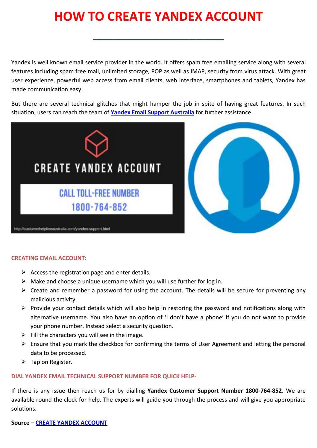 How To Create Yandex Account By Kissa Twezofive Issuu