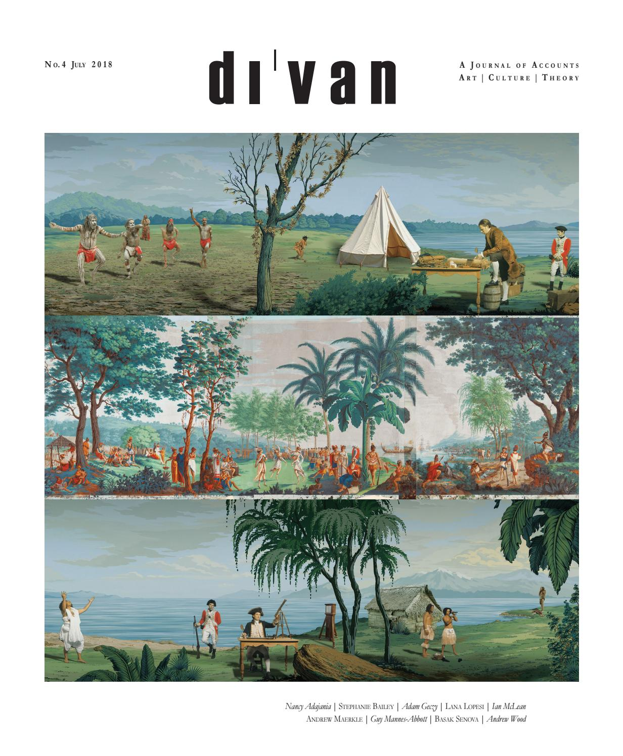 Di'van | A Journal of Accounts | Issue 4 by UNSW Art & Design - issuu
