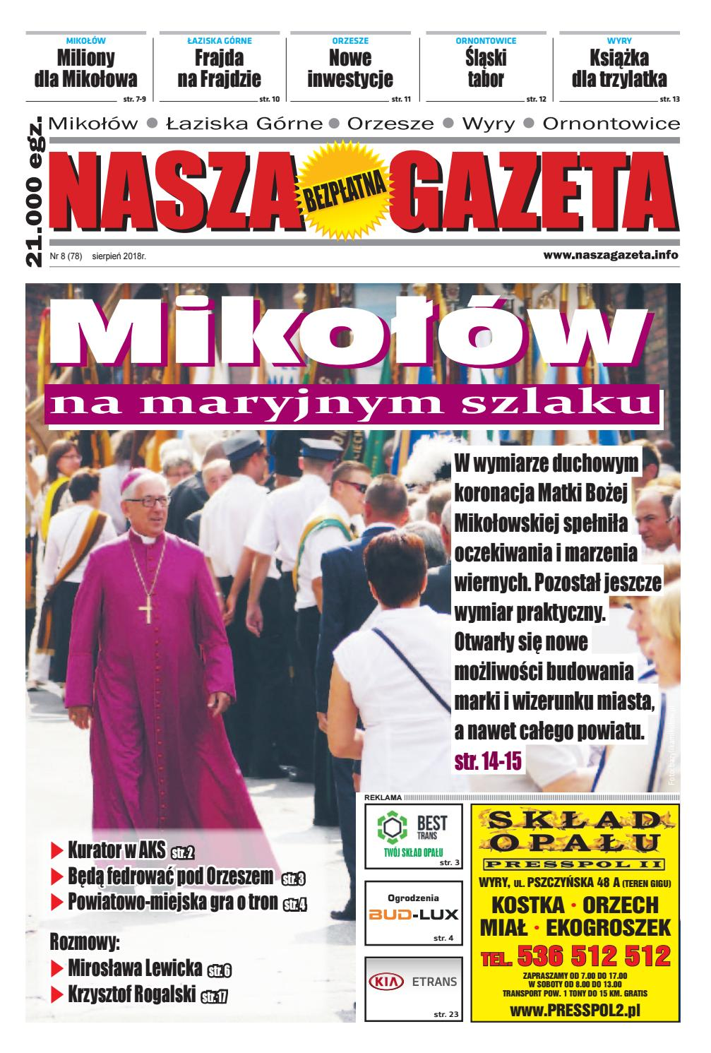 Nasza Gazeta Nr 78 82018 By F Press Issuu