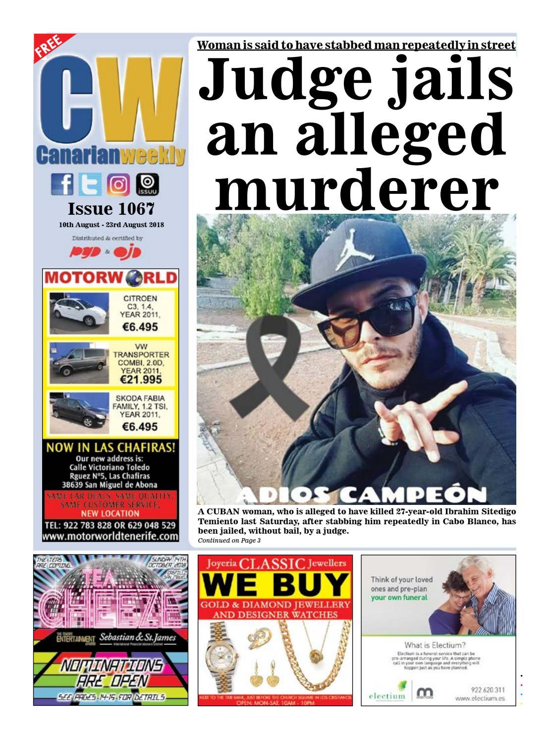 b2ccf94c8f CW Issue 1067 by Canarian Weekly - issuu