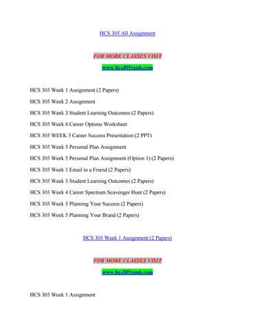 Hcs 305 Rank Lessons In Excellence Hcs305rank By Roelofv