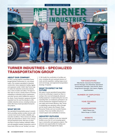 Turner Industries Company Magazine Fall 17 By Turner Industries Issuu