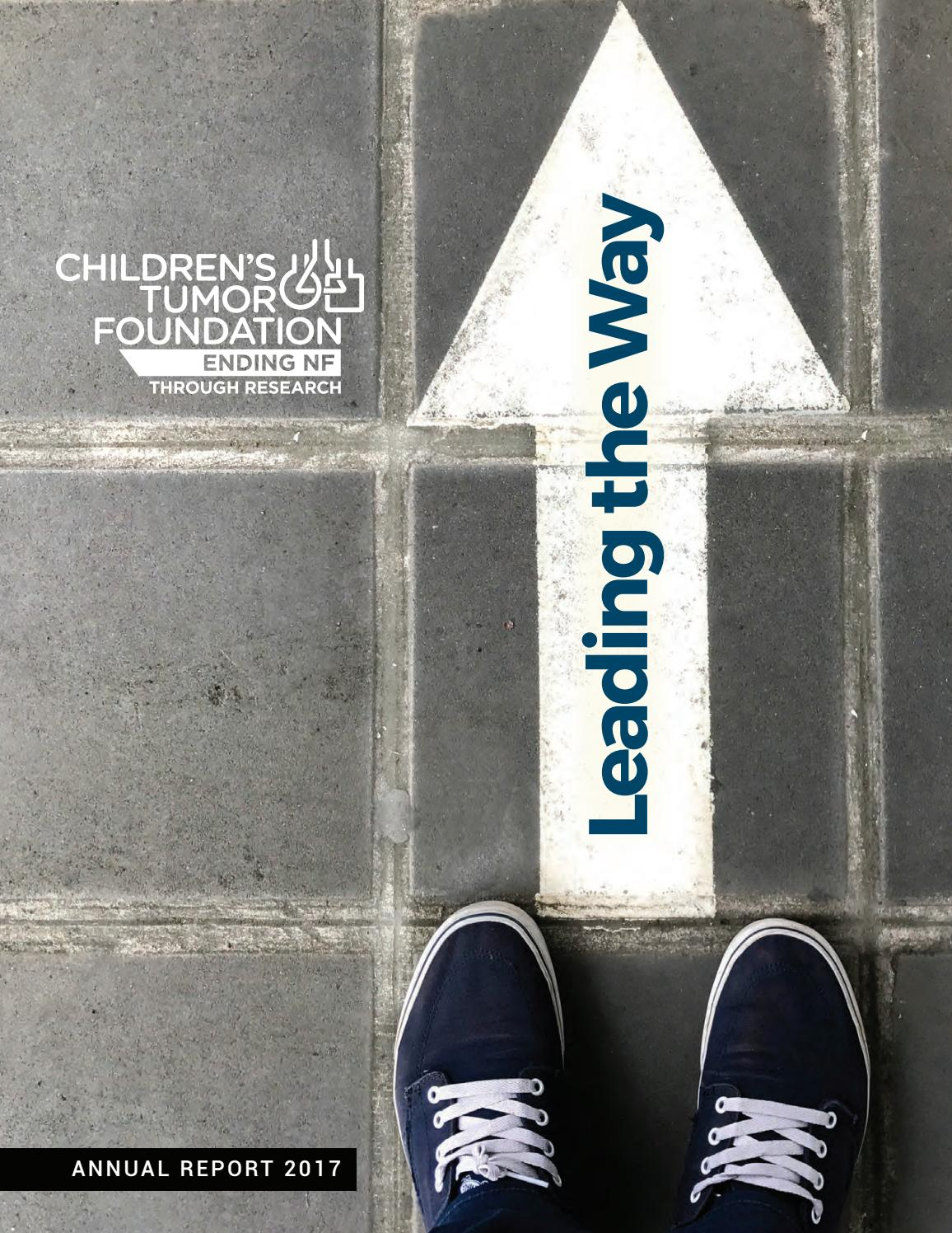 Children's Tumor Foundation 2017 Annual Report by Children's