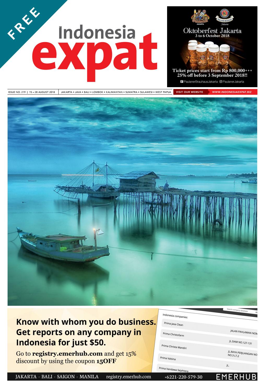 Indonesia Expat - issue 219 by Indonesia Expat - issuu