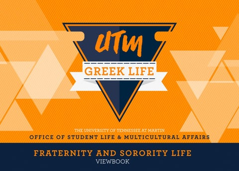 be4a8dad UTM Greek Life Viewbook 2018-2019 by UT Martin Office of Student ...