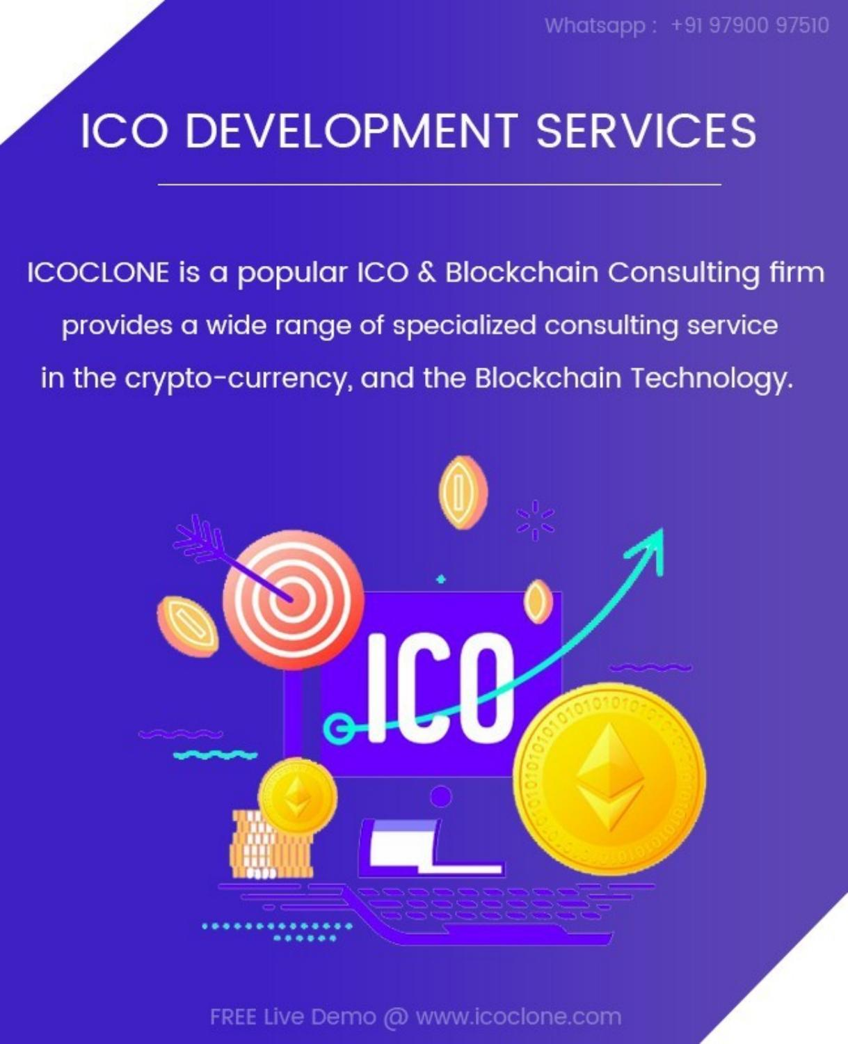 End-to-End ICO Development Services & Consulting - cover