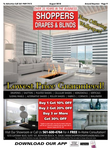 shoppers drapes and blinds blinds curtains page abaug2018 by savings guide magazine issuu