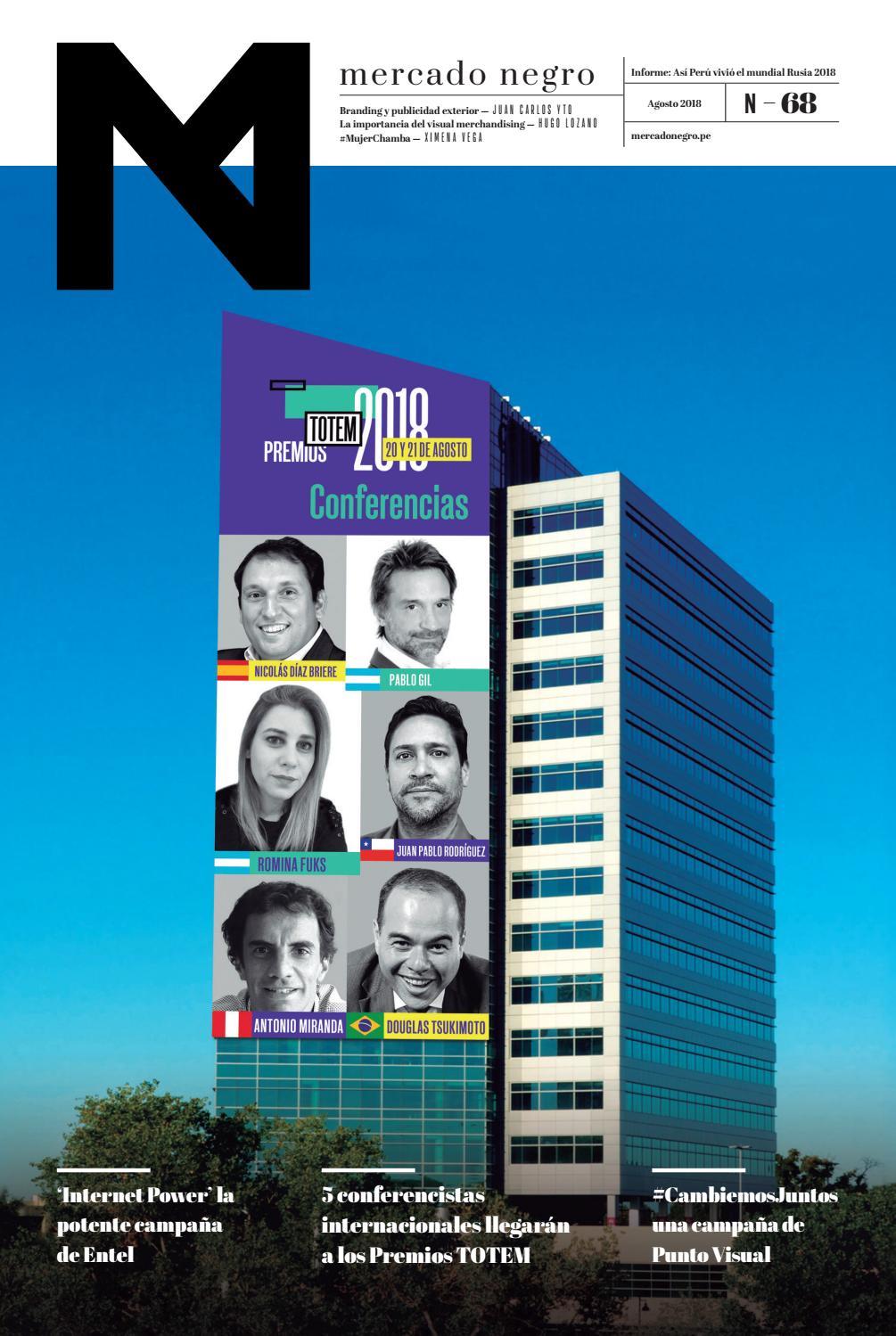 ADnews 68 - Agosto 2018 by Mercado Negro Advertising - issuu 7e266407e1801
