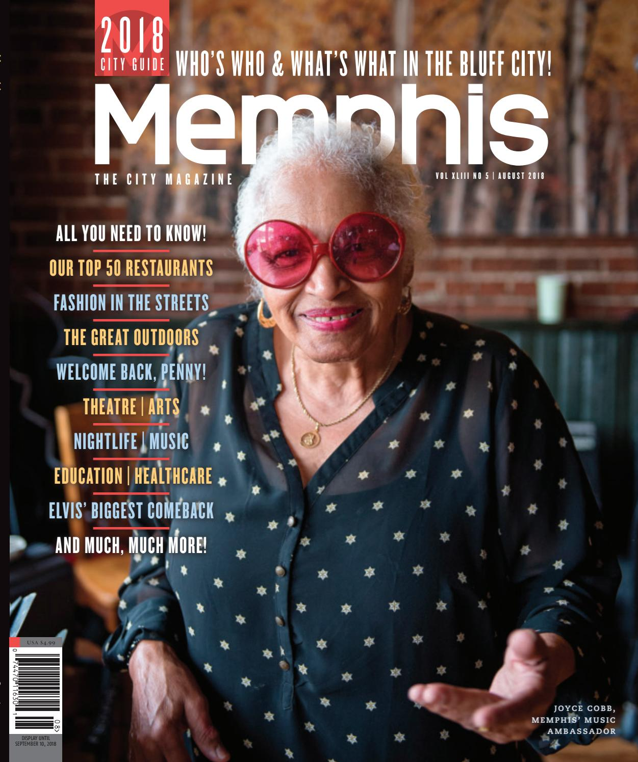 memphis magazine, august 2018 by contemporary media issuuBrighton Sugar Shack Sonnenbrille Wei Silber P 44 #4