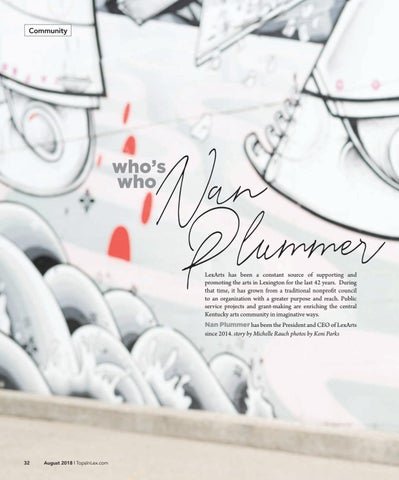 Page 32 of Who's Who: Nan Plummer