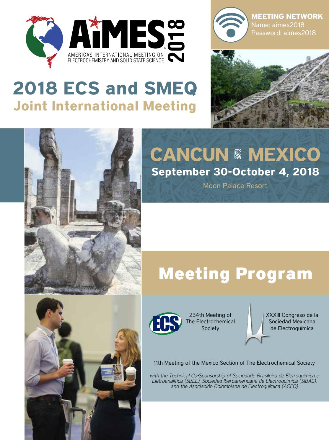Aimes 2018 Ecs And Smeq Joint International Meeting By The Ume Eco 360 Case Xiaomi Redmi 4 Prime Electrochemical Society Issuu