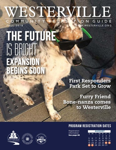 Westerville Community Recreation Guide Fall 2018 by City of