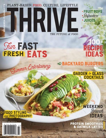 d5dea98b057 THRIVE MAGAZINE   1 Plant-based VOLUME 16 by THRIVE. ORIGIN + MANTRA ...