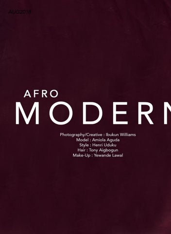Page 8 of Afro Modern
