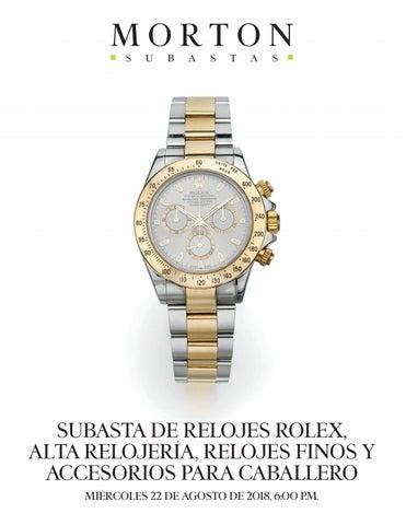 9cd40fdf3c9 Subastas de relojes Rolex