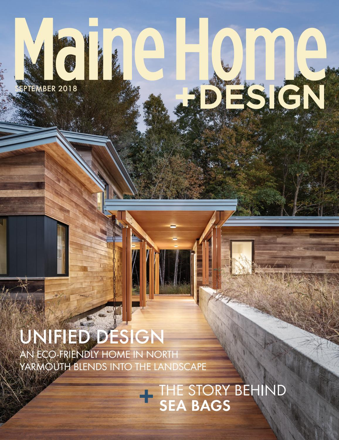 Maine home design sept 2018 by maine magazine issuu