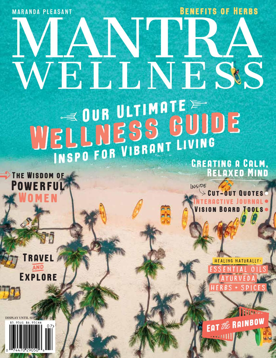28d52b883 Mantra Wellness Magazine Volume 23 by THRIVE. ORIGIN + MANTRA Magazines -  issuu