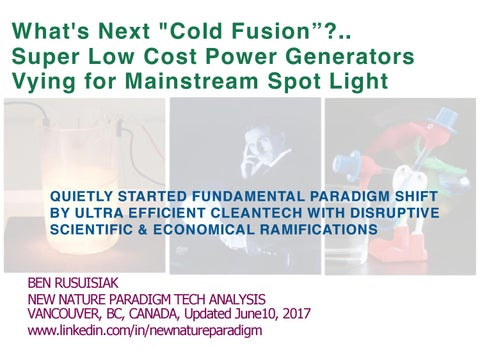 "fbc0aea272e What's Next ""Cold Fusion""?.. Super Low Cost Power Generators Vying ..."