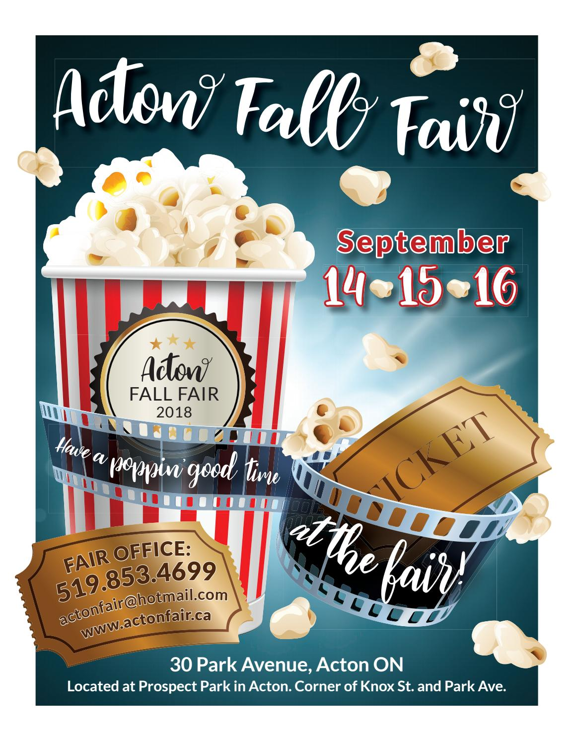 Acton Fall Fair 2018 by WHA Publications Ltd  - issuu
