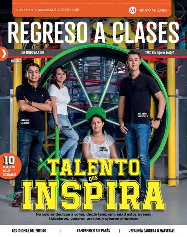 REGRESO A CLASES, agosto 2018, Milenio Hidalgo. by ...