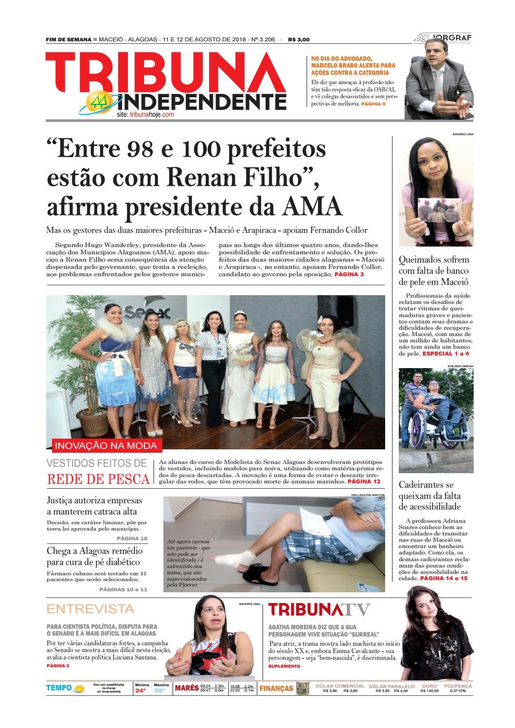Edição número 3206 - 11 e 12 de agosto de 2018 by Tribuna Hoje - issuu 782b3131f8cbf